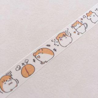 Cute hamster 🐹 washi tape