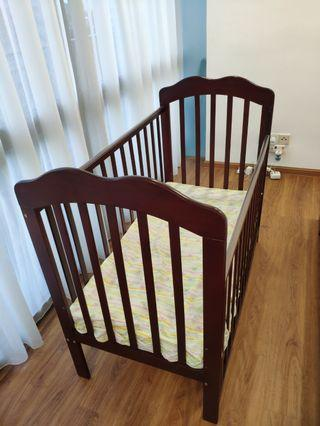 Baby Cot - mattress not included