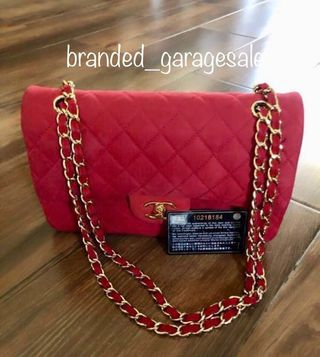 6f799d3c7996 Rare Authentic Chanel Vintage Medium Double Flap Red Suede Bag in GHW  (REPRICED!)