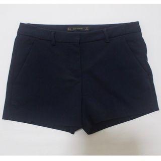 Zara Navy Shorts