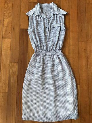 Geometric Print Vintage Dress