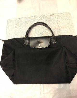 Longchamp Black 厚料