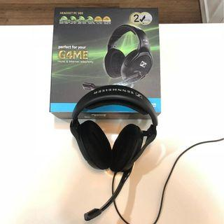 Sennheiser Headset PC 360 Gaming Headphones with Microphone (Astro Corsair SteelSeries Hyper X Logitech Turtle Beach)