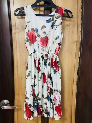 Flowy Floral Summer Dress