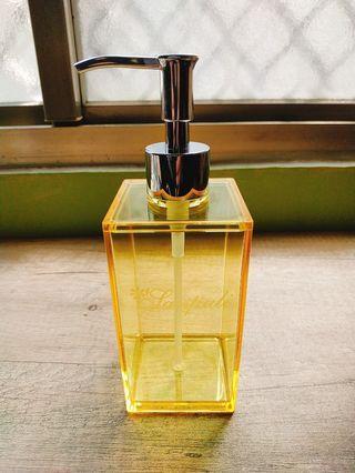 威尼斯乳液瓶390ml(黃色) 可裝美妝保養品 乳液 沐浴乳等 台灣製造