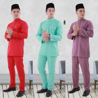 Adiey Baju Melayu Slim Fit