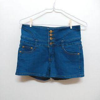 🚚 4排扣高腰短褲