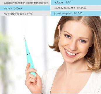 Household beauty instrument to clean dental calculus tartar tooth stains remove dental stones electric whitening teeth