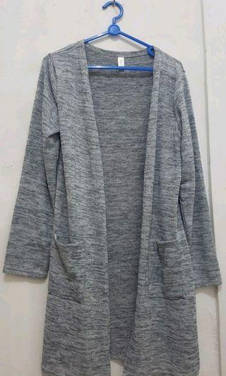 Grey Cardigan - Long