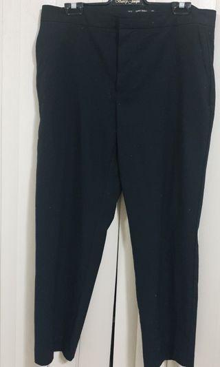 Zara black pants size M