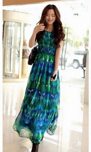 Peacock Lady Dress