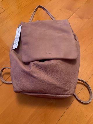 Baggu Handmade leather backpack