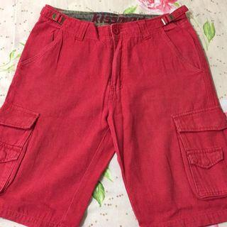 🚚 二手 紅色 多口袋 工作褲 M號 軍褲 jks wtaps