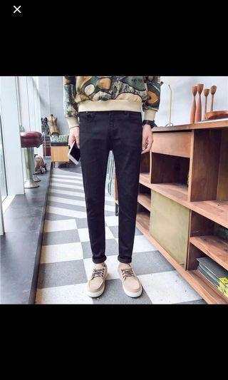 🚚 [尺寸不合]28腰黑長褲