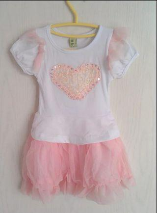Sweetheart dress set