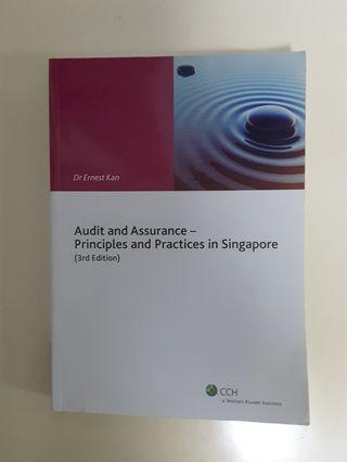 🚚 Audit and Assurance - Principles and Practices in Singapore (3rd Edition) by Dr Ernest Kan