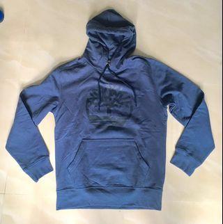 Timberland Sweater 深藍色抓毛長袖有帽衛衣(全新)M/M