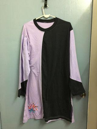 Baju Muslimah Light Purple