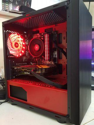 Custom Gaming PC (Ryzen 5 2600 with GTX1070!!)