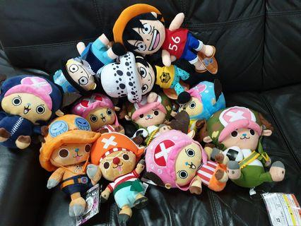 One Piece Soft Toys