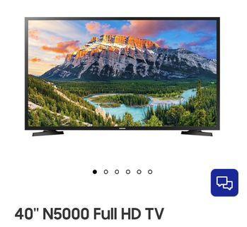 Samsung 40 smart led tv