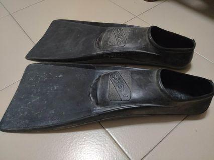 diving snorkeling swimming flippers for sale