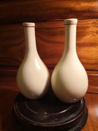 100%英國製造DURALINE花瓶一對