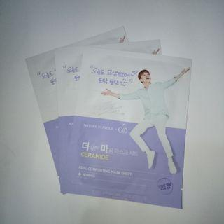 CHEN EXO masker Nature Republic special edition