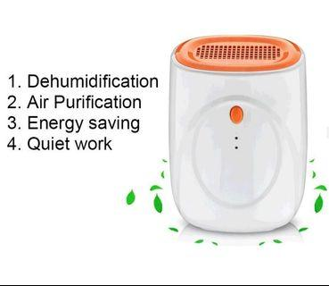Mute dehumidifier home mute dehumidifier basement bedroom dehumidifier treasure to tide artifact 500ml-intl