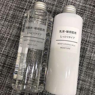 🚚 🉐️無印良品敏感肌化妝水/乳液