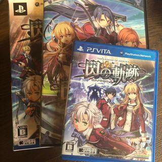 Psv Game閃之軌跡1+2連特典CD