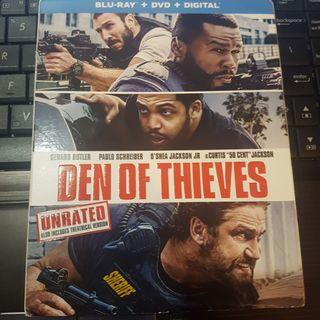 Den Of Thieves Blu Ray (U.S Version)