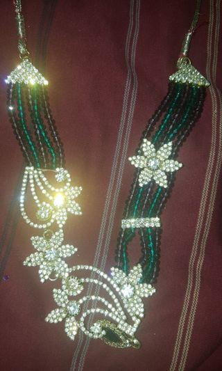 Green Indian Necklace