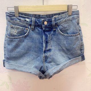 Authentic &Denim high waist shorts #APR75