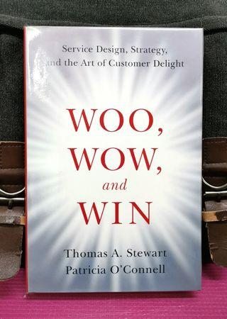 《BRAN-NEW HARDCOVER + How To Close The Gap Between Your Strategy,  Promise You Make, & The Customer Experience You Deliver》Thomas Stewart & Patricia O'Connell - WOO, WOW, AND WIN : Service Design, Strategy, And the Art of Customer Delight