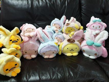 Sanrio Fluffy Toys