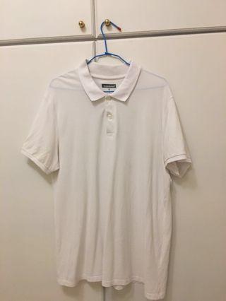 🚚 男款白色POLO衫