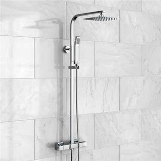 High Turbo Pressure Shower Head Bathroom Hand Large Rainfall Water Saving Filter-intl