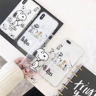 PREORDER Snoopy Beatles Phone Case