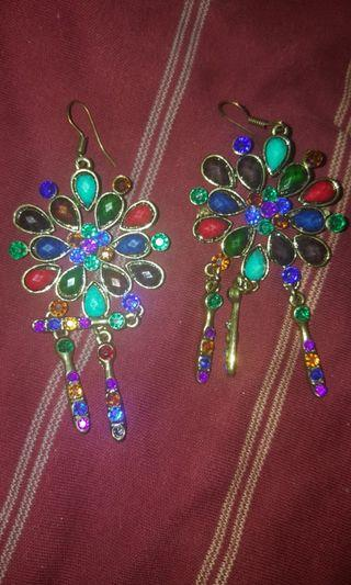 Various Indian Earrings (Sold Separately)