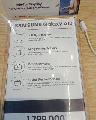 KREDIT SAMSUNG Galaxy A10
