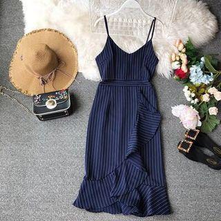 #Sale~Striped Midi Dress #EndgameYourExcess