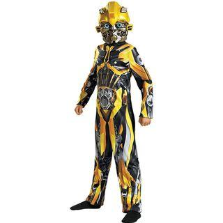 Hasbro Transformers Bumblebee kids costume great for Birthday Parties and Halloween