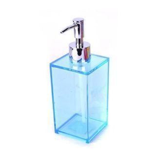 威尼斯乳液瓶390ml(藍色) 可裝美妝保養品 乳液 沐浴乳等 台灣製造