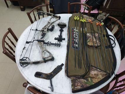 Hoyt Compound Bow / Archery (Left Handed Bow)