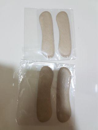 🚚 2 for $7 Fabric heel padding for back ankle