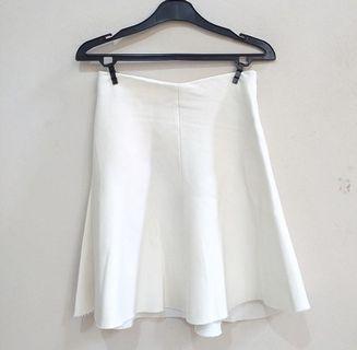 Zara broken white skirt