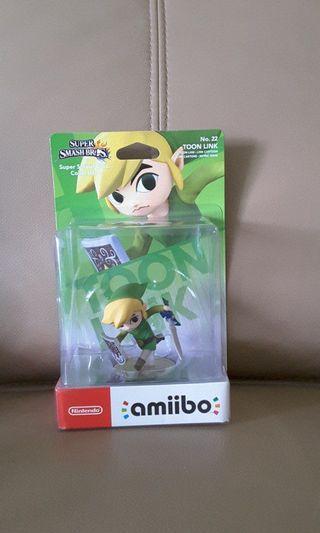 Amiibo Toon Link Super Smash Bros Series