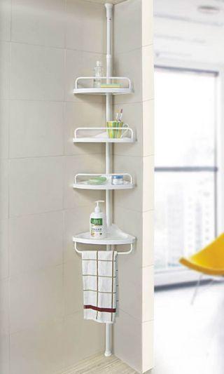 Four-floor corner rack perforation-free