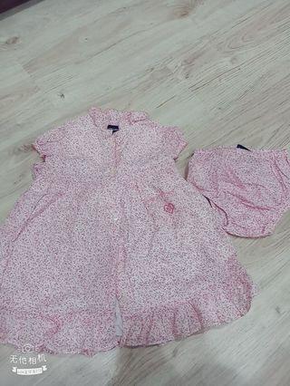 🚚 12個月大的女童洋裝